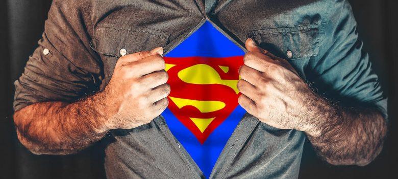 Det er ikke alle superhelter som bærer en kappe
