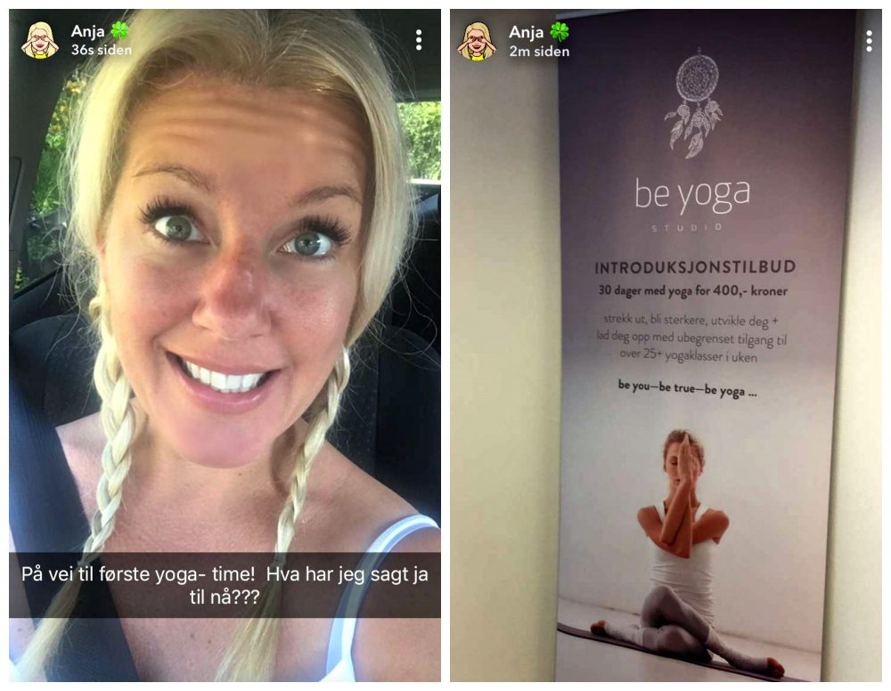 Yoga newbie