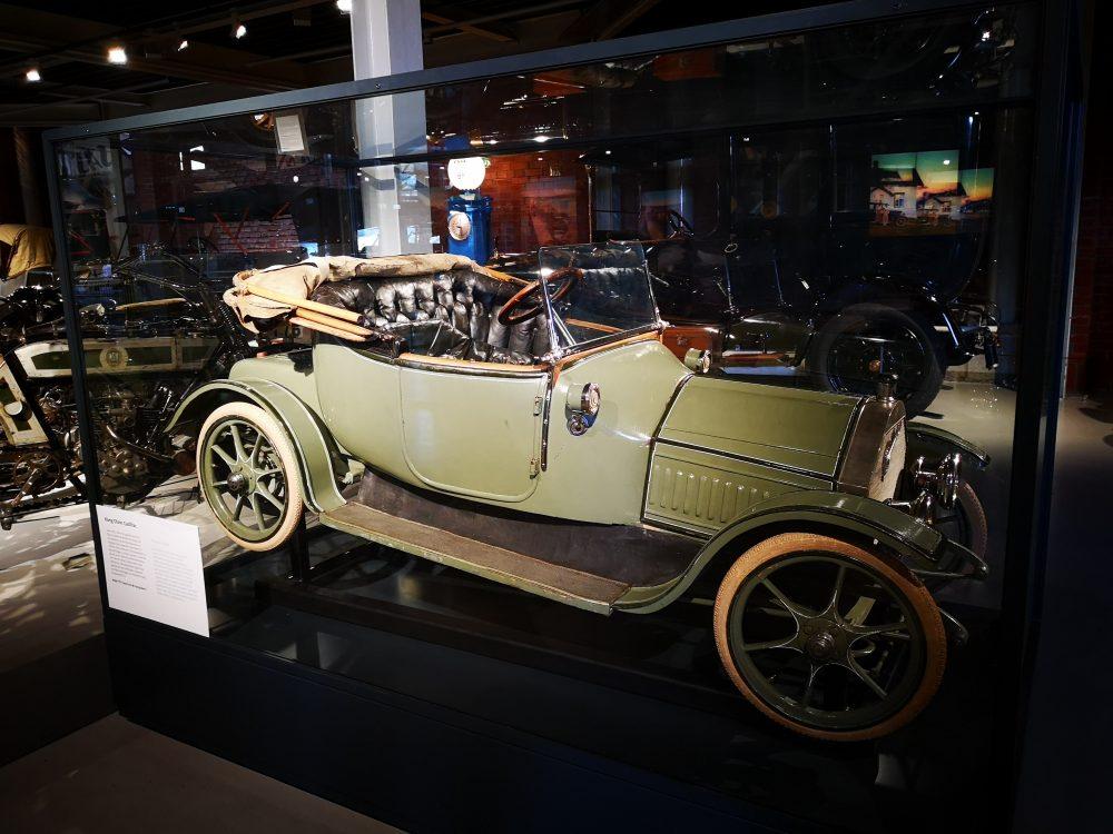lappeteppet, teknisk museum, kong olav, elektrisk bil