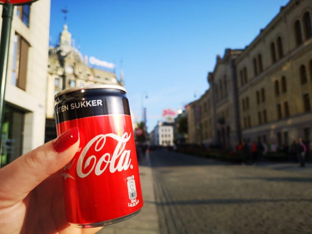 lappeteppet, cola, uten , sukker