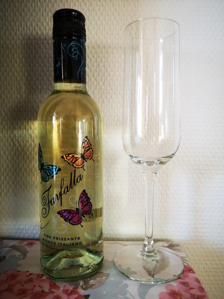 lappeteppet, vin, farfalle, tid