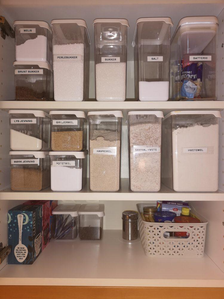 konmari-lappeteppet-oppbevaring-kjøkken