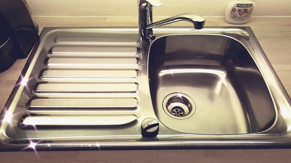 lappeteppet-ren- vask-flylady-shiny-sink